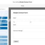 Memasukkan Form ke WordPres